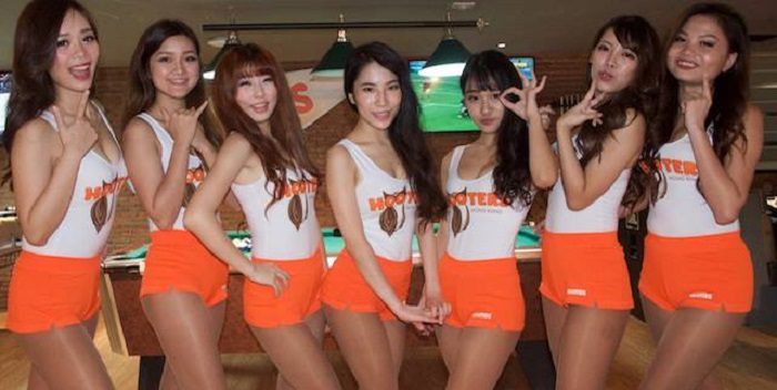 From Hooter Hong Kong Facebook