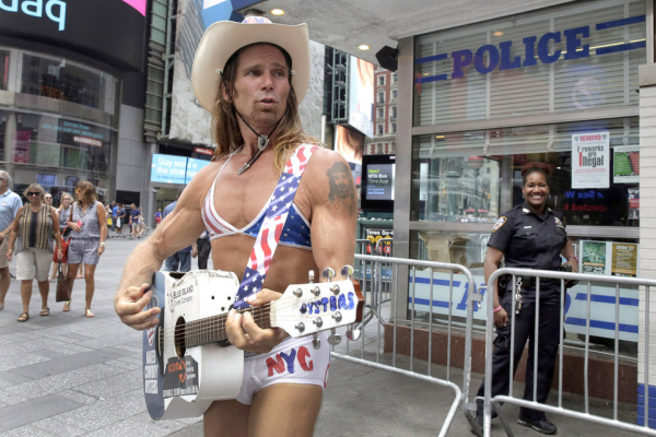 Times Square Topless Women